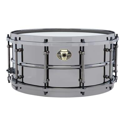 "Ludwig LW6514 Black Magic 6.5x14"" Brass Snare Drum"