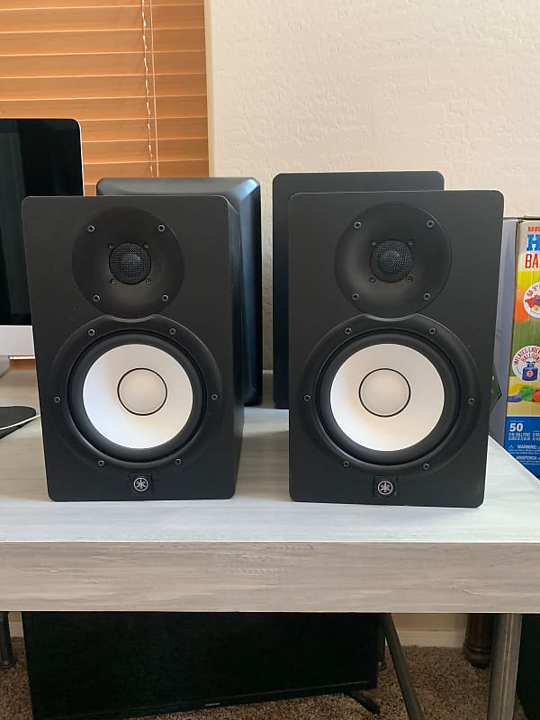 yamaha hs8 powered studio monitor pair gear outlet reverb. Black Bedroom Furniture Sets. Home Design Ideas