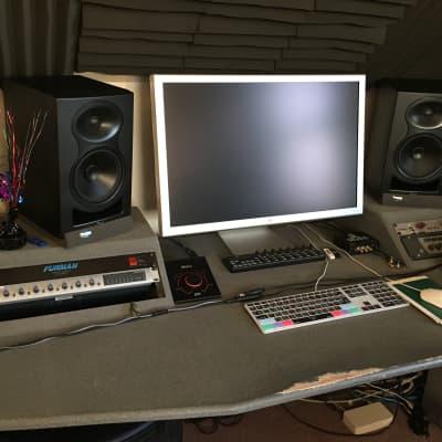 Custom Studio desk Home/Project series desk 2012 Gray granite