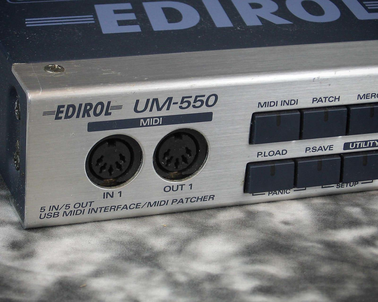 DRIVERS UPDATE: EDIROL UM 550