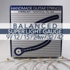 Stringjoy Balanced Super Light Gauge (9-42) Nickel Wound Electric Guitar Strings image