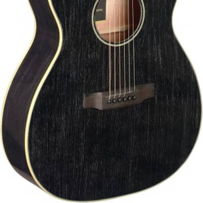 James Neligan YAK-ACFI Cutaway Acoustic-Electric Auditorium, Solid Mahogany Top, New, Free Shipping