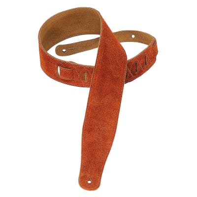 """Levy's MS26 2.5"""" Soft Suede Guitar Strap"""