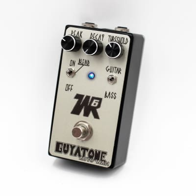Guyatone WR6 Auto Wah Black / Silver - Designed in Japan, Made in USA! image