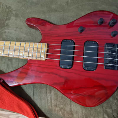 Washburn XB900 1996 Red Stained for sale