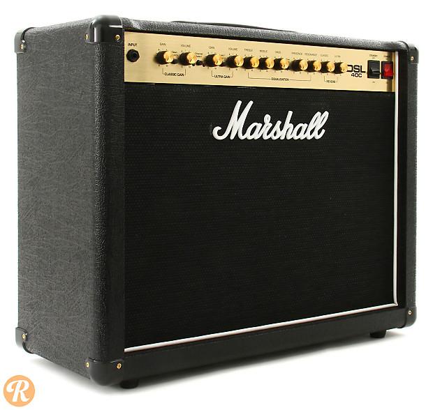 marshall dsl40c 40 watt 1x12 tube guitar combo amp black reverb. Black Bedroom Furniture Sets. Home Design Ideas