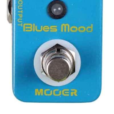 Mooer Audio Blues Mood Overdrive Guitar/Bass Effect Pedal