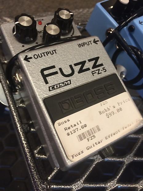 boss fz 5 fuzz pedal robb 39 s boulder music reverb. Black Bedroom Furniture Sets. Home Design Ideas