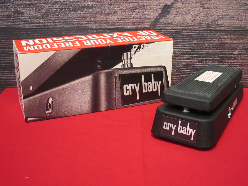 dunlop cry baby wah gcb 95 sam ash sarasota reverb. Black Bedroom Furniture Sets. Home Design Ideas