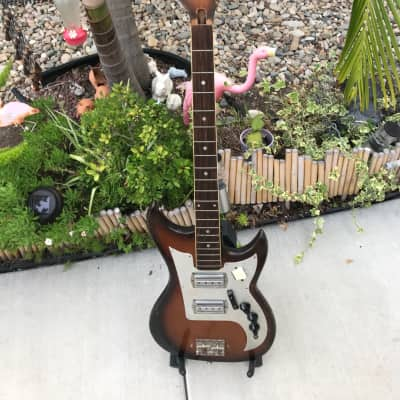 Vintage 1966/67 Japanese Made Kimberly Monster Bass Guitar for sale
