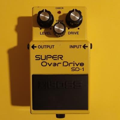 Boss SD-1 Super OverDrive Black Label ACA 1990