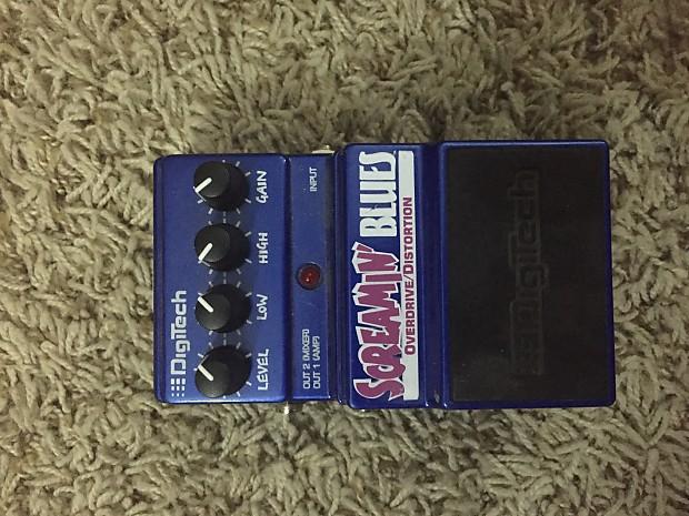digitech screamin 39 blues driver 2000 2010 dark blue reverb. Black Bedroom Furniture Sets. Home Design Ideas