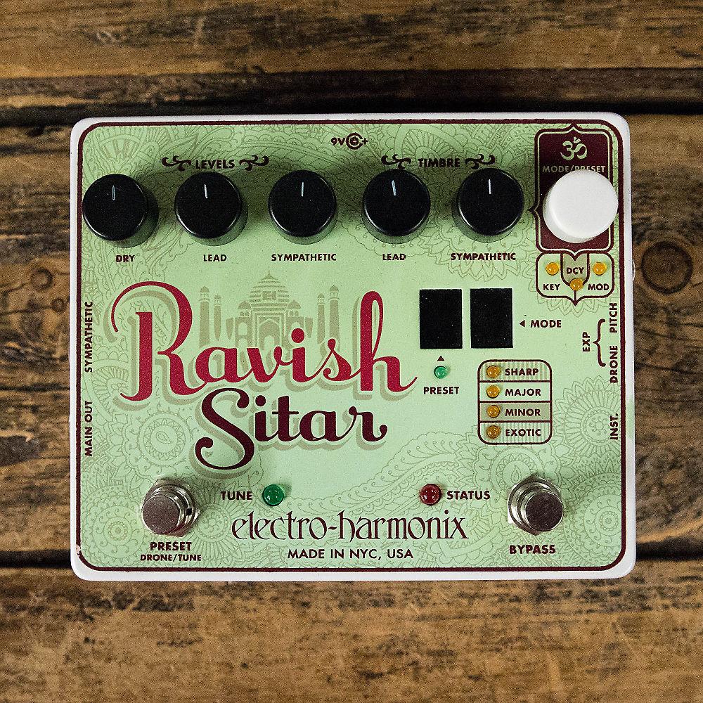electro harmonix ravish sitar pedal reverb. Black Bedroom Furniture Sets. Home Design Ideas