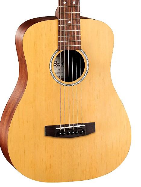 25dec8a063 Cort ADMINIOP Standard Series 3/4 Size Acoustic Guitar w /Gig   Reverb