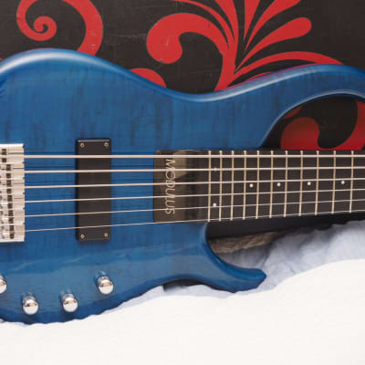 Modulus Quantum Q6 Sweet Spot Trans Blue Spalted Maple for sale