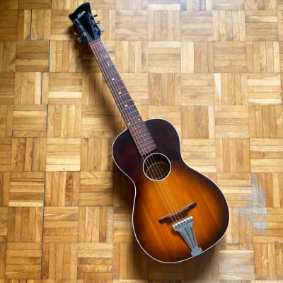 Herman Carlson Levin Model 18 rare & vintage gorgeous parlor guitar! Made in Sweden in 1948! Read! for sale