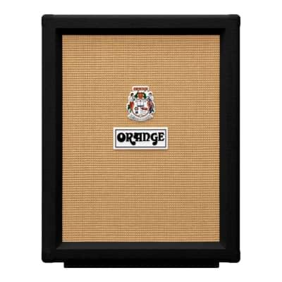 Orange PPC212V-BK Vertical 2x12 Guitar Speaker Cabinet Black