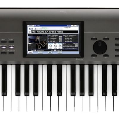 Korg Krome EX 61 Velocity Sensitive Semi Weighted Key Music Workstation