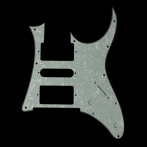 custom replacement guitar pickguard for ibanez rg 350 dx reverb. Black Bedroom Furniture Sets. Home Design Ideas