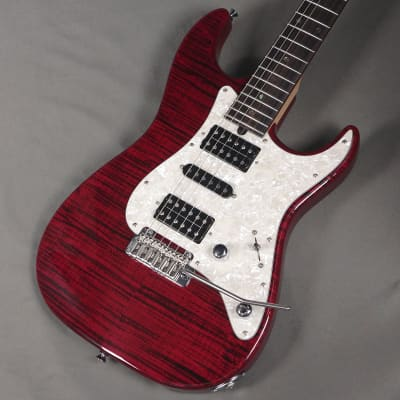 T's Guitars Dst-Classic 22 Flame Maple Trans Red 05/17 for sale