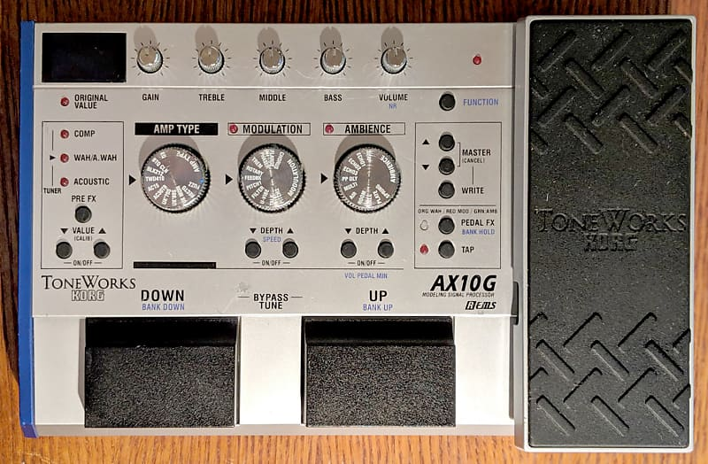 user manual for korg toneworks ax3000g