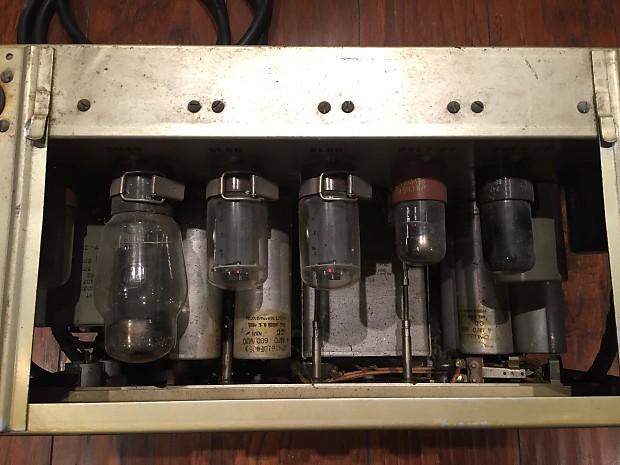 Vintage 1952 Signal Corps U S Army Am 424a Pfp 1 Tube
