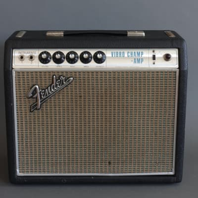 Fender Vibro Champ Vintage 1969 Drip Edge Guitar Amplifier