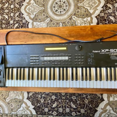 Roland XP-50 61-Key 64-Voice Music Workstation Keyboard (for parts or repair only)