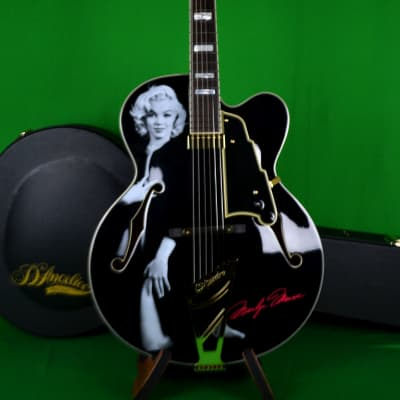 D'Angelico Marilyn Monroe EXL-1 Excel Series Outfit, Case Strap & Cord Included, Int'l Buyer Welcome