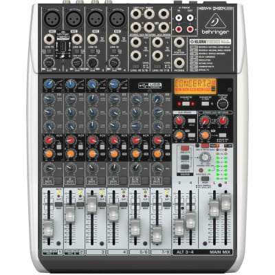 Behringer Xenyx QX1204USB Mixer with USB and Effects