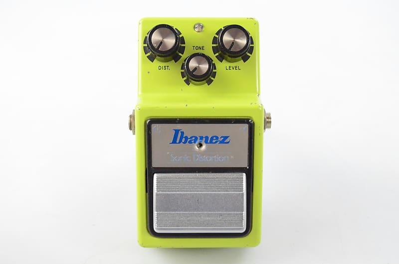 Vintage Ibanez SD-9 Sonic Distortion Guitar Pedal JRC4558D