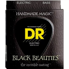 DR Black Beauties Medium Bass Strings