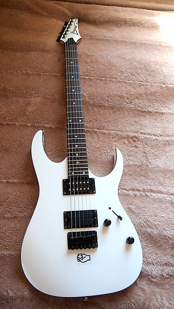 ibanez rg2ex2 white electric rg guitar metal 25 5 fixed reverb. Black Bedroom Furniture Sets. Home Design Ideas