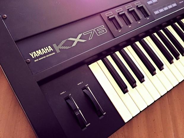 yamaha kx76 kx 76 midi controller keyboard reverb. Black Bedroom Furniture Sets. Home Design Ideas