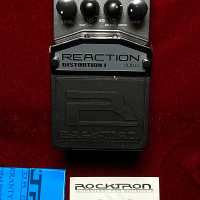 Rocktron Distortion I - Reaction Series Pedal for sale