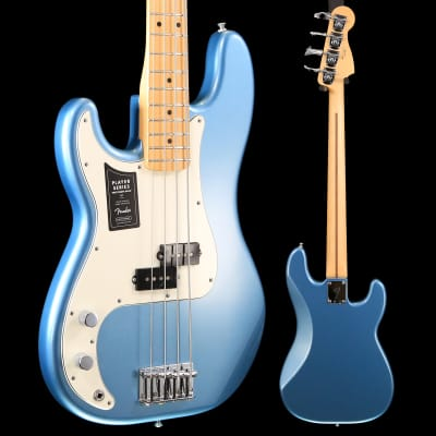 Fender Player Precision Bass Left-Handed, Maple Fingerboard, Tidepool S/N MX18213533