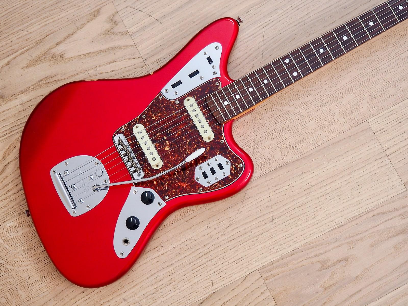 1999 fender jaguar 39 62 vintage reissue guitar jg66 candy apple red japan cij. Black Bedroom Furniture Sets. Home Design Ideas