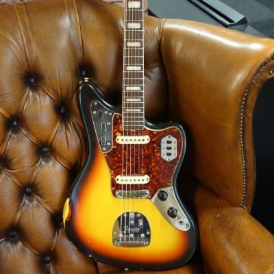 Fender Jaguar 1966 Sunburst OHSC