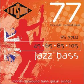 Rotosound RS77LD Jazz Bass 77 Long Scale Standard Flatwound Bass Strings 45-105