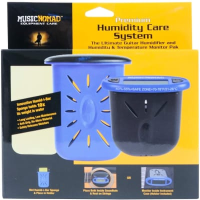 Music Nomad MN306 Premium Humidity Care System, Humitar & Humireader