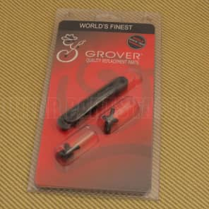 520BC Grover Black Nashville Tune-o-matic Guitar Bridge Retro Fits USA Gibson for sale