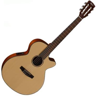Cort CEC3 Nylon Classical Guitar Natural Satin 45mm 1 3/4