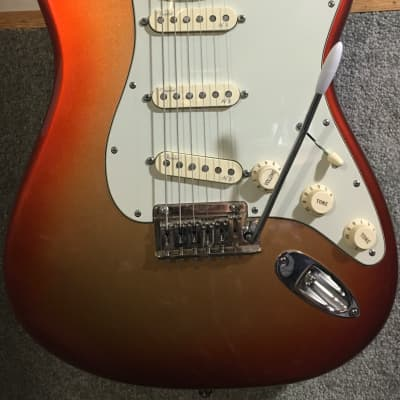 Fender American Deluxe Stratocaster 60th anniversary 2014 for sale