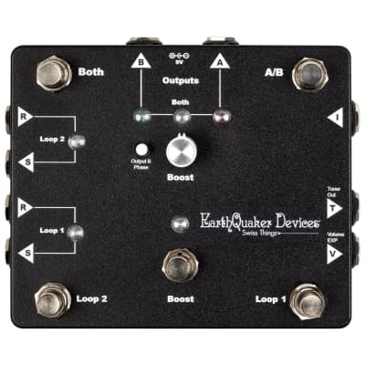 EarthQuaker Devices Swiss Things Pedalboard Reconciler Pedal