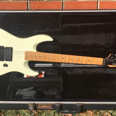 Yamaha RGX 610M White 1980s - Hardshell Case - Gunslinger, EVH Frankenstein - CASE, Strap & 2 sets of Strings!