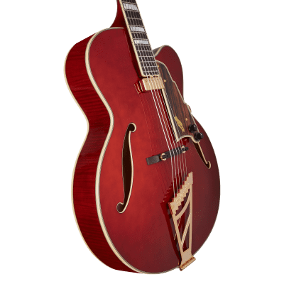 D'Angelico Excel Series EXL-1 Throwback Hollowbody Electric Guitar USA Seymour Duncan Floating Mini