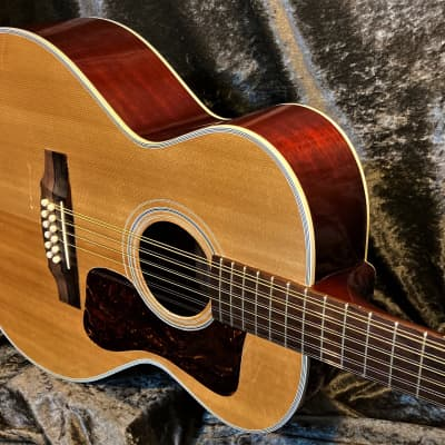 Guild F212 1970 Vintage Westerly RI Built 50 Year Old Beauty Guild 12 String with New Guild Case