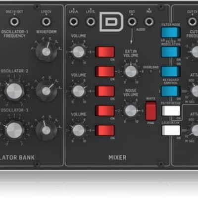 Behringer Model D Legendary Analog Module Synthesizer
