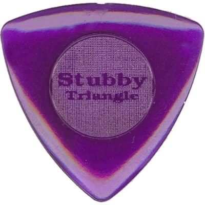 Dunlop 473P20 Tri Stubby 2.0mm Triangle Guitar Picks (6-Pack)
