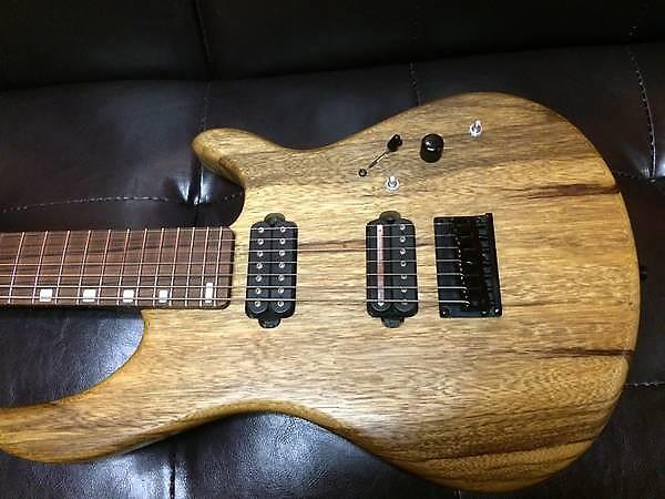 7-string Warmoth Wenge Petrucci baritone guitar